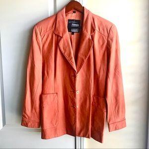 Michael Hoban genuine leather jacket
